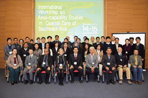 Photo Group Photo at International Area-capability workshop held in December 2015, at RIHN